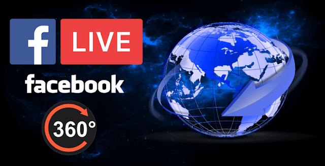 فيس بوك توفر رسميا خدمة البث المباشر بزاوية 360