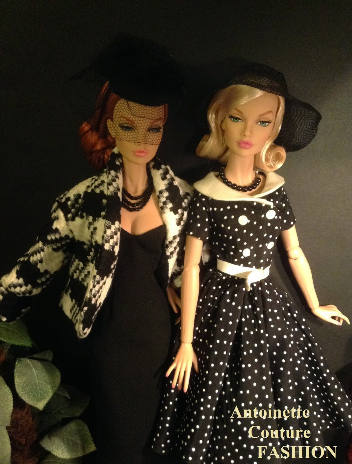 Fashion Dolls Couture - Unlimited: BLACK and WHITE
