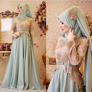 model baju kebaya memakai jilbab