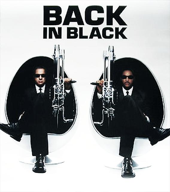 Black is Back: O nouă trilogie Man In Black