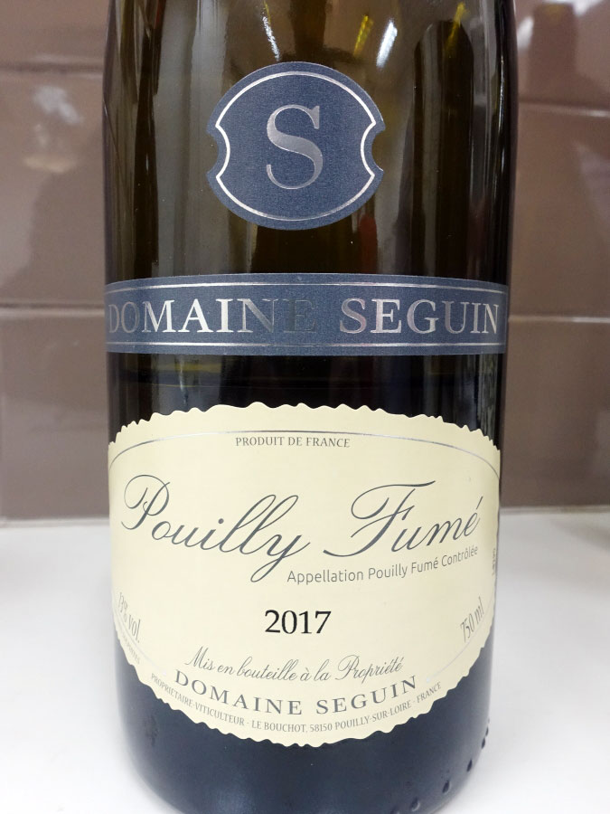 Domaine Seguin Pouilly-Fumé 2017 (90 pts)