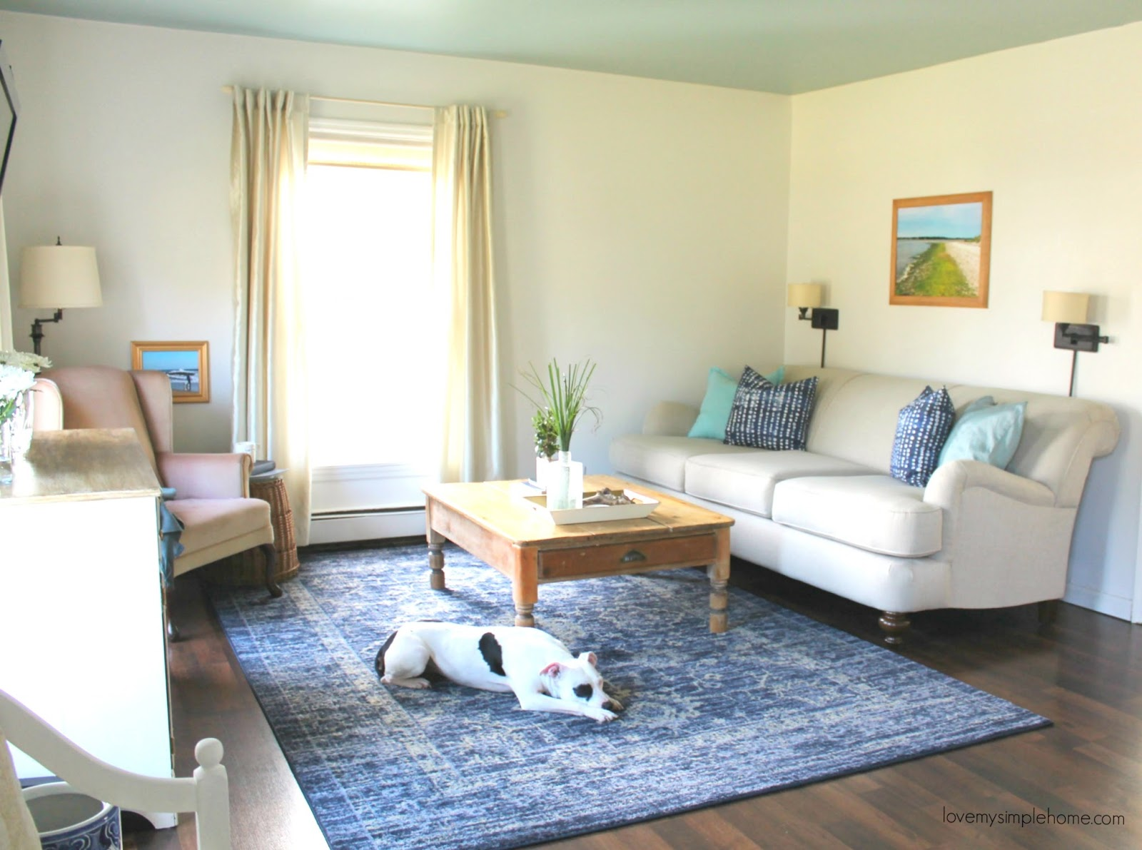 One Room Challenge Coastal Living-Family Room Reveal - Love My ...