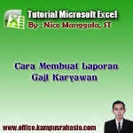 Cara Menggunakan Rumus Microsoft Excel dalam Membuat Laporan Gaji Karyawan