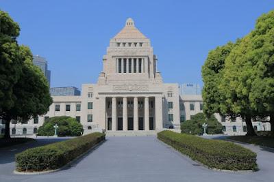 昼間の国会議事堂