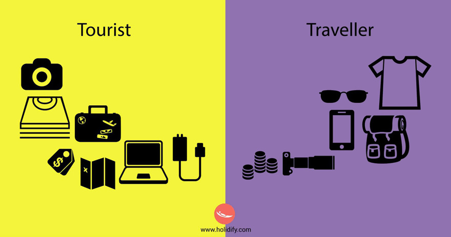#5 Tourist Vs Traveller - 10+ Differences Between Tourists And Travellers