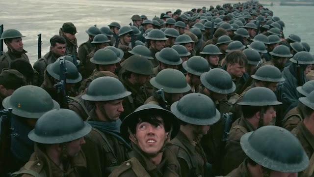 Soldats dans Dunkerque (2017) de Christopher Nolan
