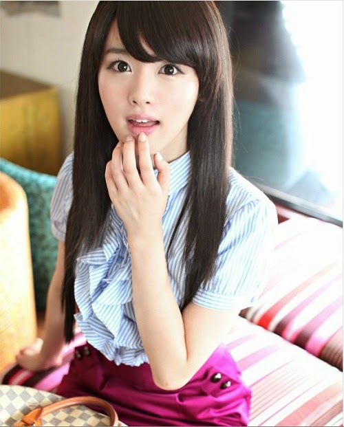 New And Stylish Korean Long Hair Cuts For Teen Age Girls -1348