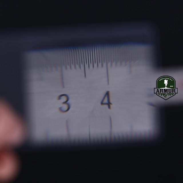 Lupa Card EDC de aprins focul Flexibil - de marimea unui card
