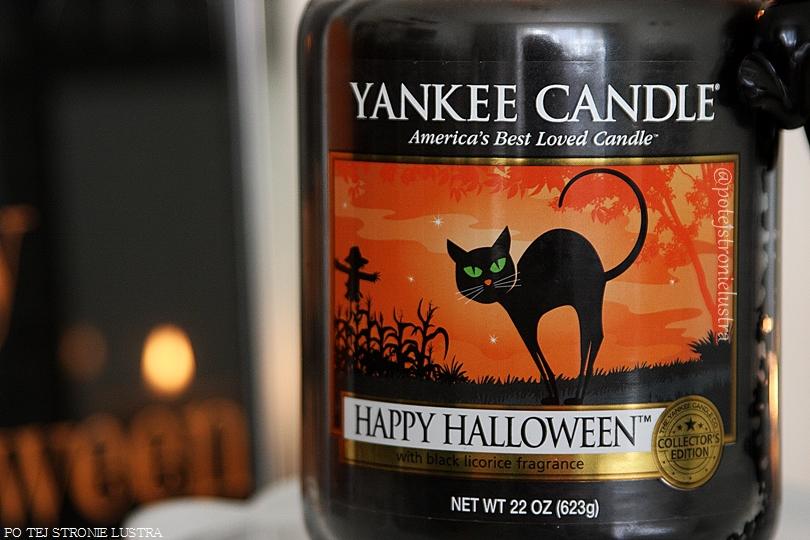 etykieta świecy yankee candle happy halloween