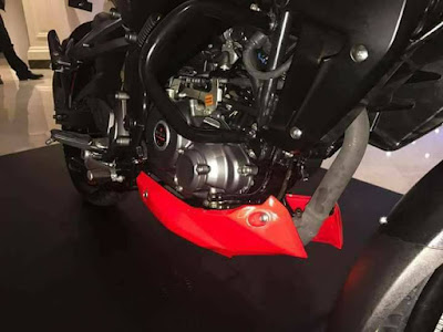 New 2017 Bajaj Pulsar NS 160 engine image