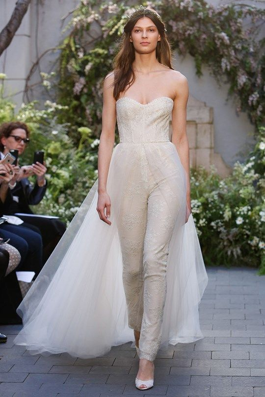 Lace Combination – Gorgeous Bridal Jumpsuits Image 10