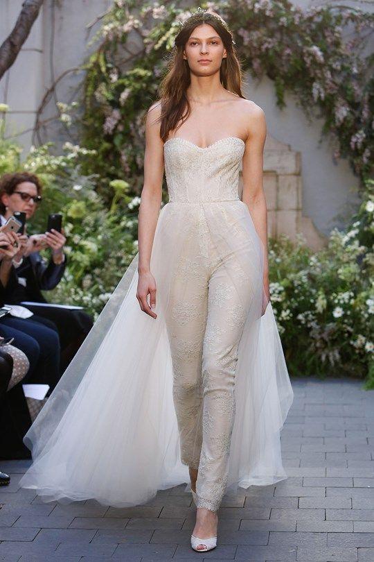 Lace Combination – Gorgeous Bridal Jumpsuits Image 10