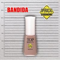 """Esmalte """"Bandida"""" da Coleção """"Operação Codinome"""" - Top Beauty"""