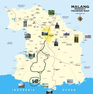 Jalur dari Malang menuju Pantai Balekambang