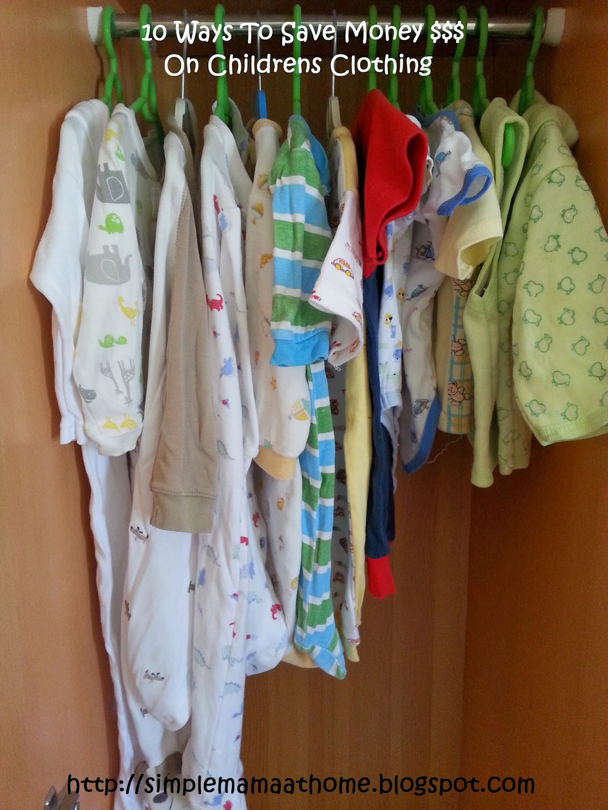 10 Ways To Save Money On Childrens Clothing