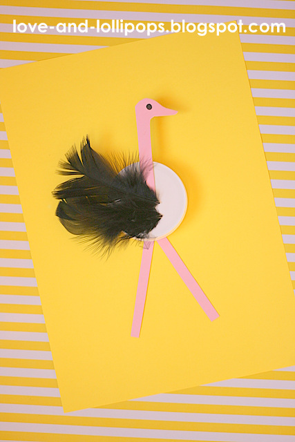 Love And Lollipops O Is For Ostrich