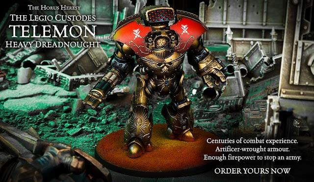 New Forgeworld Telemon Dreadnought + Rules