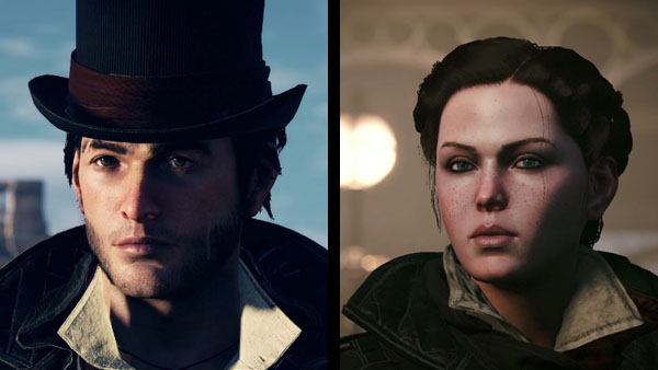 Twins Jacob Frye and Evie Frye