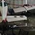 (video) SÁENZ PEÑA: 400 MM EN ZONA SUBURBANA INUNDARON UN HANGAR DE EMPRESA FUMIGADORA