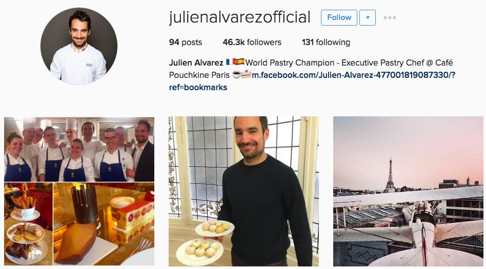Qui suivre sur instagram s lection p tisserie funambul in e qui suivre sur instagram - Qui suivre sur instagram ...