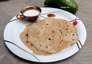 Raw Papaya Paratha