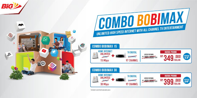 SPESIAL PROMO BOLT BUNDLING BIG TV