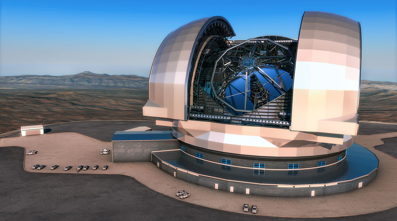 Menilik extremely large telescope calon observatorium terbesar