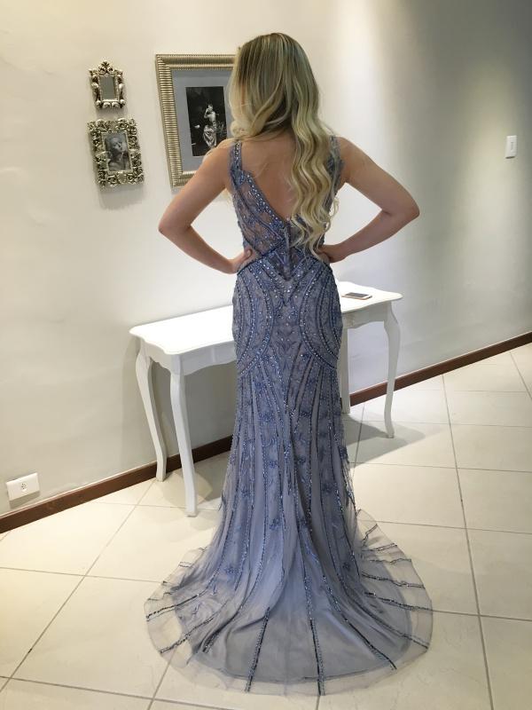 vestido de festa longo 2017