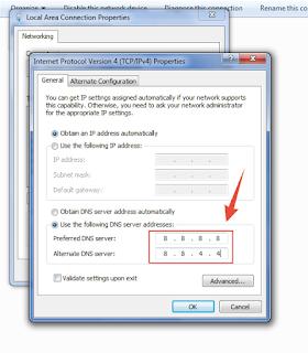 Cara Mengatasi Error DNS_PROBE_FINISHED_NXDOMAIN di PC