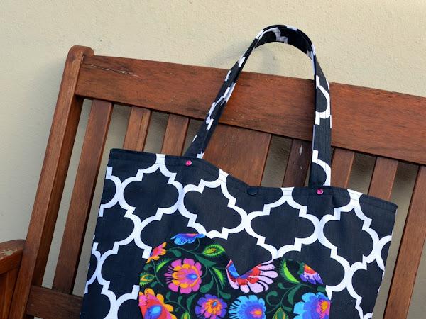 Czarne maroko - torba