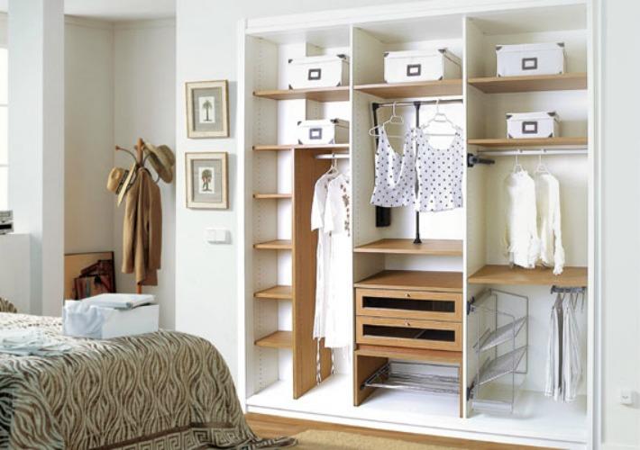 Decoraci n f cil aprovechar al m ximo el interior de los - Complementos para armarios ...