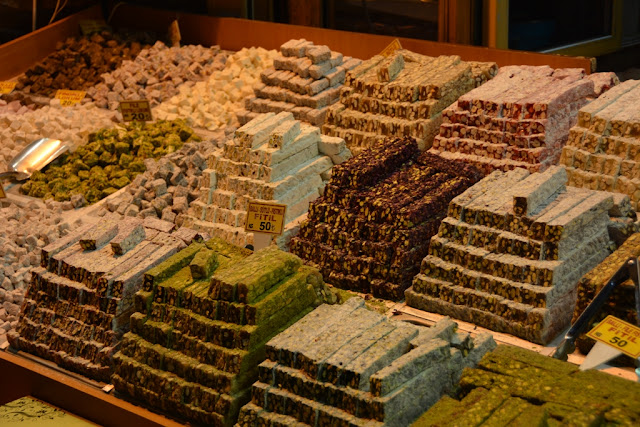 Egyptian Market Istanbul Turkish Delight
