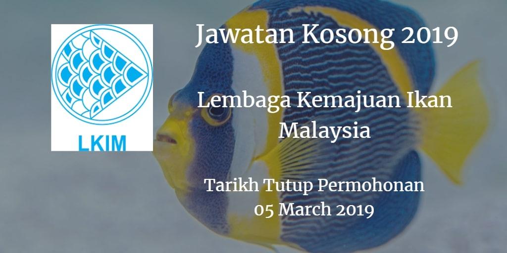 Jawatan Kosong LKIM 05 March 2019