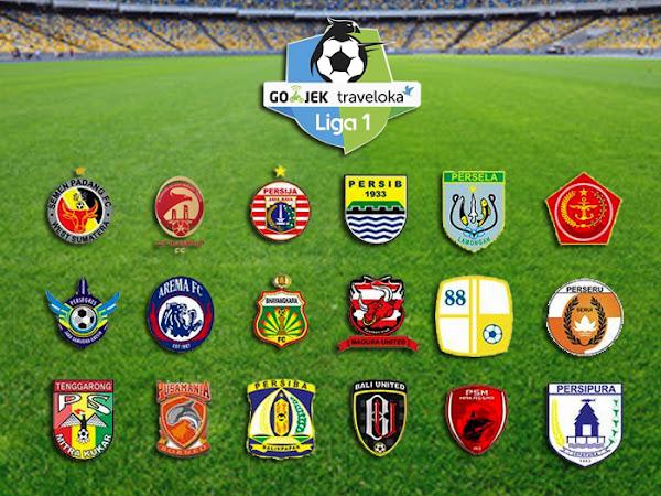 Jadwal pertandingan Go-Jek Traveloka Liga 1 pekan ke-11