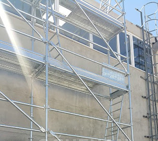FULL SECURITY FLANGED POCKET SCAFFOLD