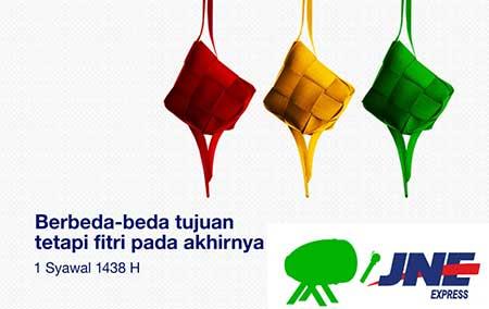 Jam Operasional Buka Tutup JNE Hari Raya Idul Fitri