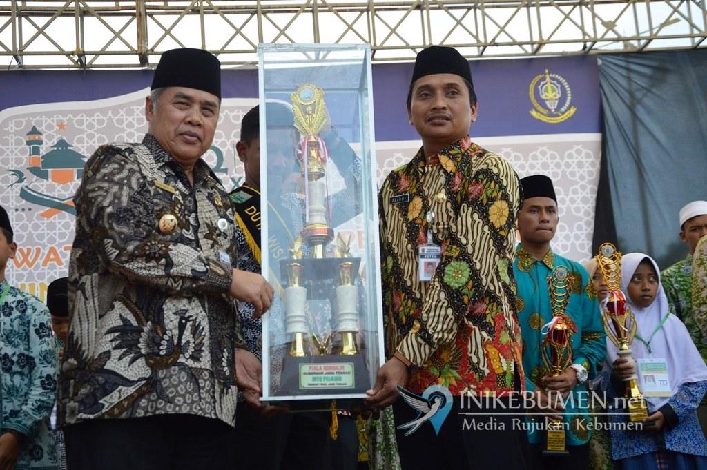 Jadi Tuan Rumah MTQ Pelajar Jateng, Kebumen Gagal Raih Juara Umum