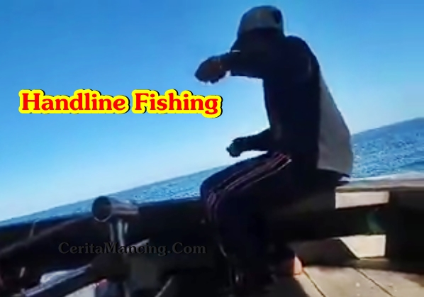 Handline Fishing Like Pro Got Monster Diamond Trevally