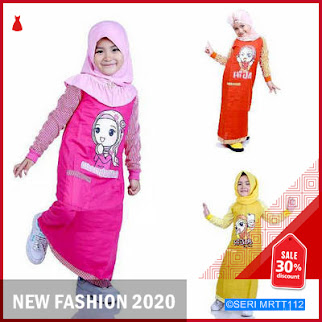 MRTT112D37 Dress Muslim Anak Perempuan Keren BMGShop