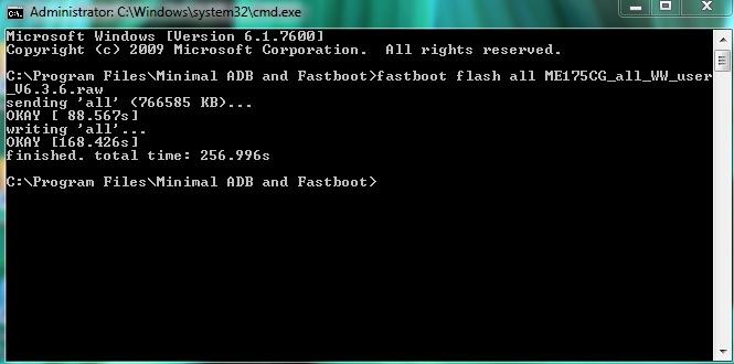 ASUS Fonepad7 ME175CG [K00Z] Firmware Download [Flashing
