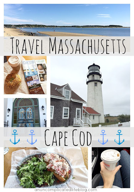 Traveling Cape Cod off the coast of Massachuetts #domestictravel
