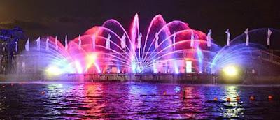 летние ночные представления в Ашдодском парке на море