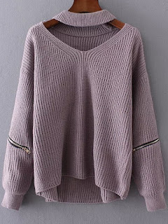 http://es.shein.com/Purple-Choker-V-Neck-Zipper-Detail-Sweater-p-327083-cat-1734.html?aff_id=8741