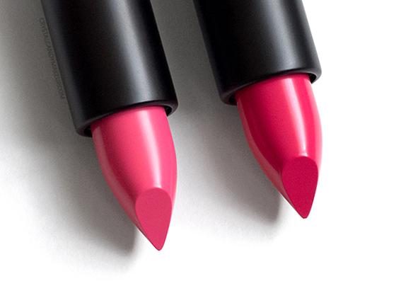MUFE Artist Rouge Creme Lipsticks Review C305 C306