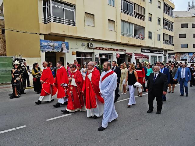świętowanie ku czci świętego w Hiszpanii