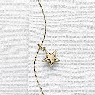 Pia Jewellery Gold Star Pendant