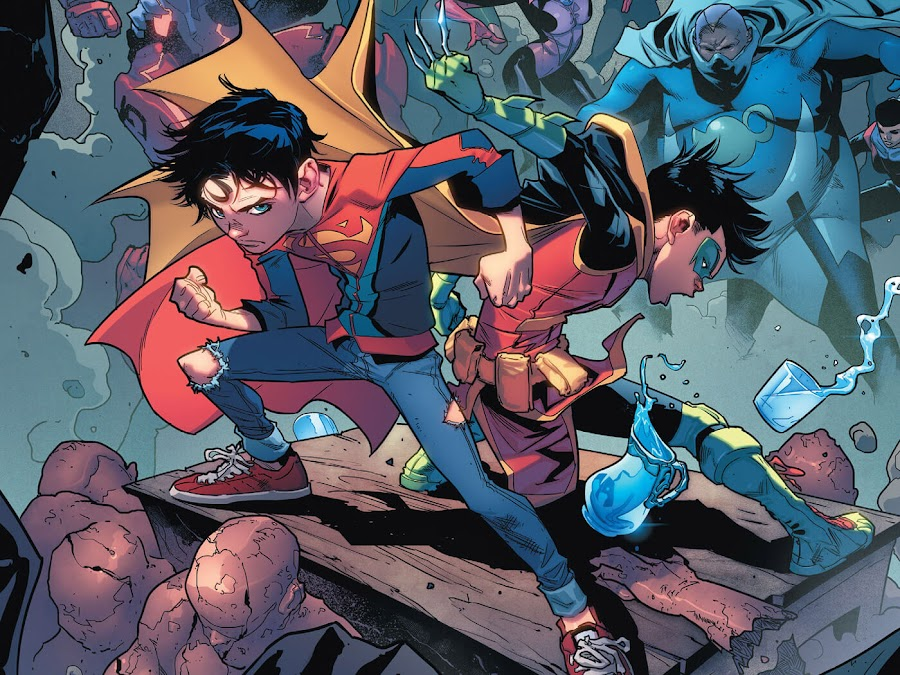super sons dc comics peter tomasi