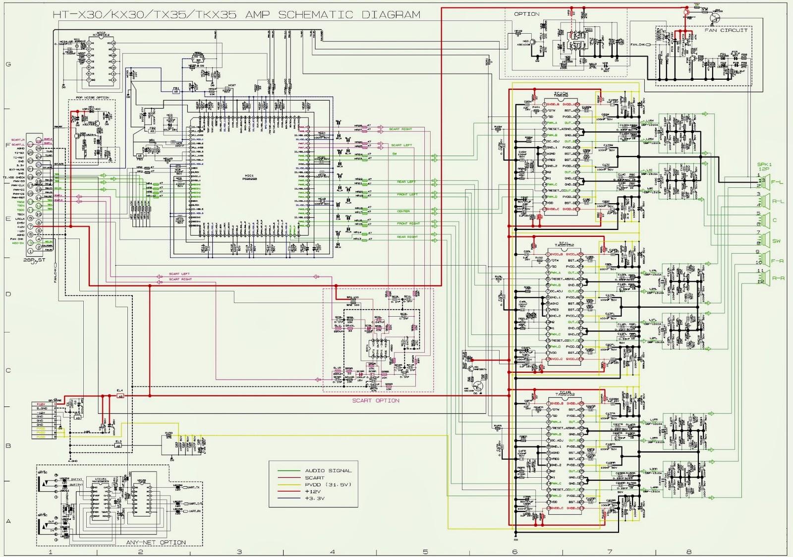 Samsung ht-x30 + ht-x30r service manual & repair guide download m.