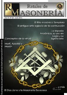 Retales de Masonería 60 – Junio 2016