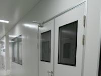 Sandwich panel door